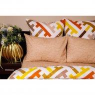 Комплект постельного белья «Ночь Нежна» Лабиринт, двуспальный, 70х70.