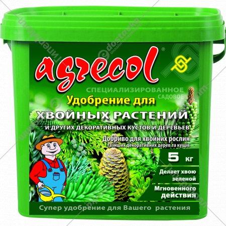 Удобрение «Agrecol» для хвойных растений, 5 кг.