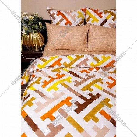 Комплект постельного белья «Ночь Нежна» Лабиринт, 2 сп. евро 50х70.