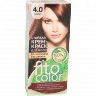 Крем-краска «Fito Color» 4.0 каштан, 115 мл.