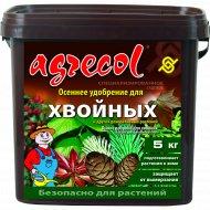 Удобрение «Agrecol» осеннее для хвойных, 5 кг.