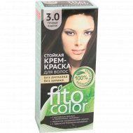 Крем-краска «Fito Color» 3.0 темный каштан, 115 мл.