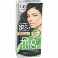 Крем-краска «Fito Color» 1.0 черный, 115 мл.