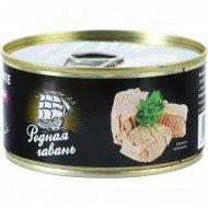 Рыбные консервы «Тунец филе» натуральный, 185 г.