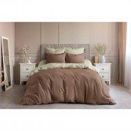 Комплект постельного белья «Ночь Нежна» Шоколад, полуторный, 70х70.