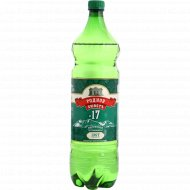 Вода минеральная «Родной Бюветъ №17» газированная, 1.5 л.