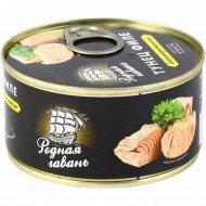Рыбные консервы «Тунец филе» бланшированный в масле, 185 дг.