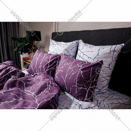 Комплект постельного белья «Ночь Нежна» Верба, двуспальный, 70х70.