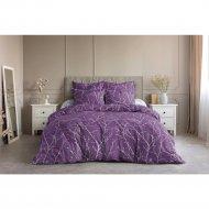 Комплект постельного белья «Ночь Нежна» Верба, двуспальный евро 50х70.