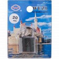 Замок навесной «Wuzi» HG320 12/240, серый