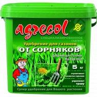 Удобрение для газона «Agrecol» против сорняков, 5 кг.