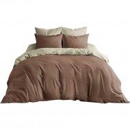 Комплект постельного белья «Ночь Нежна» Шоколад, семейный, 70х70.