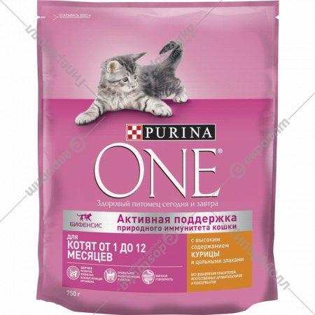 Корм сухой для котят «Purina One» 750 г.