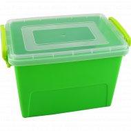 Цветной контейнер, прямоугольный, 2.4 л.