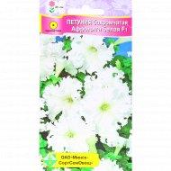 Семена петуния «Афродита» гибридная, бахромчатая, белая, 7 шт.