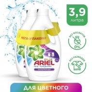 Гель для стирки «Ariel» насыщенный цвет, 1.95+1.95 л.