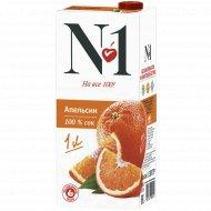 Сок «№ 1» апельсиновый, 1 л.