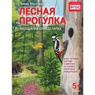 Книга «Лесная прогулка. Находилка-определялка с иллюстрациями. 5+».