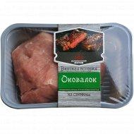 Полуфабрикат из свинины «Оковалок» охлажденный, 1 кг., фасовка 0.8-0.9 кг