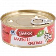 Консервы мясные «ОМКК» Малыш-крепыш, 100 г