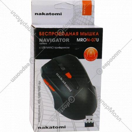 Мышь Mron-07U Black Nakatomi Navigator RF 2.4G Optical.