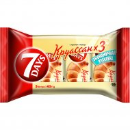 Круассан «7 Days» с начинкой какао, 3х65 г.