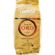 Кофе натуральный в зерне «Lavazza» qualita oro, 500 г.