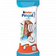 Пирожное «Kinder Pingui» с молочно-кокосовой начинкой, 30 г.