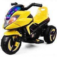 Электромотоцикл «MIRU» желтый.