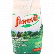 Удобрение «Florovit» для газона, 5 кг.