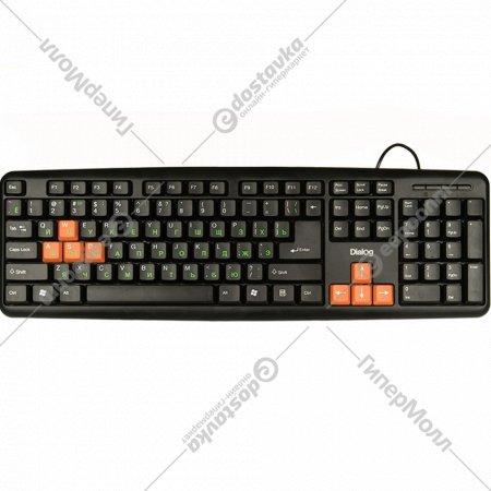 Клавиатура «Dialog» KS-020U Standart Black-orange.