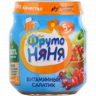 Пюре «Фруто Няня» витаминный салатик 100 г