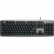 Клавиатура «Dialog» KS-020U Gray Standart Black.