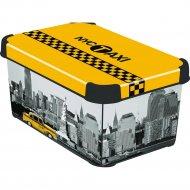 Коробка «Curver» Taxi NY, S, 29х19х14 см