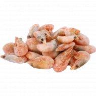 Креветки северные неразделанные, 1 кг., фасовка 0.59-0.6 кг
