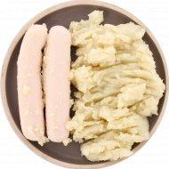 Картофельное пюре с сосиской, охлажденное, 265.2 г