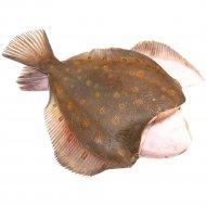Камбала морская, охлажденная, 1 кг, фасовка 0.6-0.8 кг