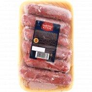 Колбаски сырые из мяса птицы «Дачные» замороженные, 1 кг., фасовка 0.8-1.1 кг