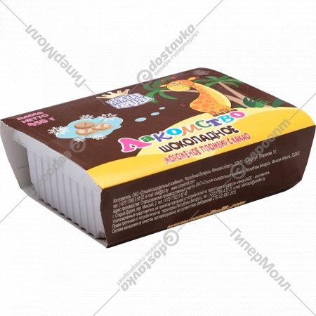 Мороженое «Лакомство шоколадное» пломбир с какао, 12%, 450 г.