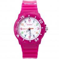 Наручные часы «Skmei» 1043, ярко-розовые