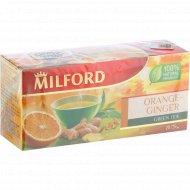 Чай фруктовый «Milford»апельсин, имбирь, 20 пакетиков.