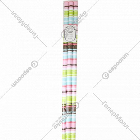 Бумага декоративная в рулоне, YC-15, 3 шт.