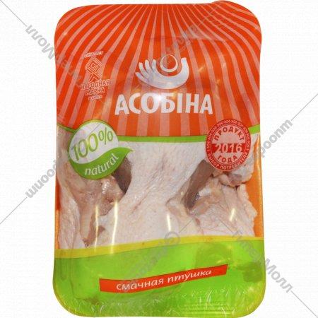 Спинка цыпленка-бройлера «Асобiна» охлаждённая, 1 кг., фасовка 0.7-1.1 кг