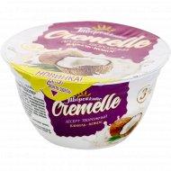 Десерт творожный «Cremelle» рафаэлло, 3%, 130 г.