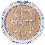 Пудра «Catrice» All Matt Plus Shine Control, 025 Sand Beige, 10 г