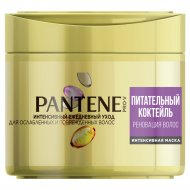 Маска для волос интенсивная «Pantene» питательный коктейль, 300 мл