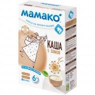 Каша мультизлаковая «Мамако» на козьем молоке 200 г.