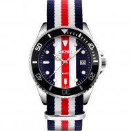 Наручные часы «Skmei» 9133, с красной полосой