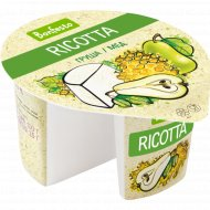 Сыр мягкий «Ricotta» груша-мёд 50%, 125 г.