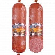 Колбаса варено-копченая «Кремлевская» салями в/с 1 к., фасовка 0.7-0.85 кг